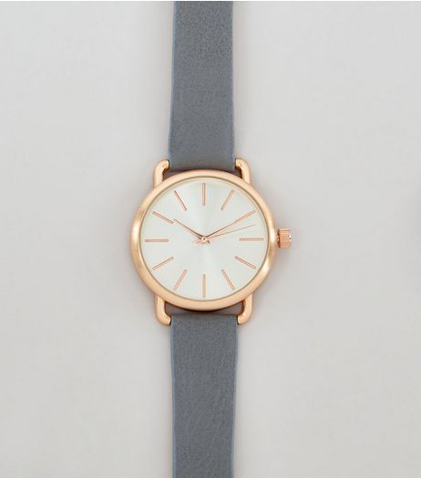 Grey Matte Watch | New Look