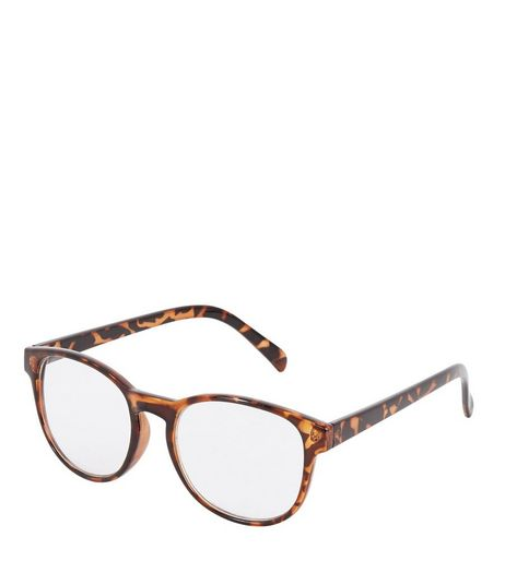 Brown Tortoiseshell Reading Glasses | New Look