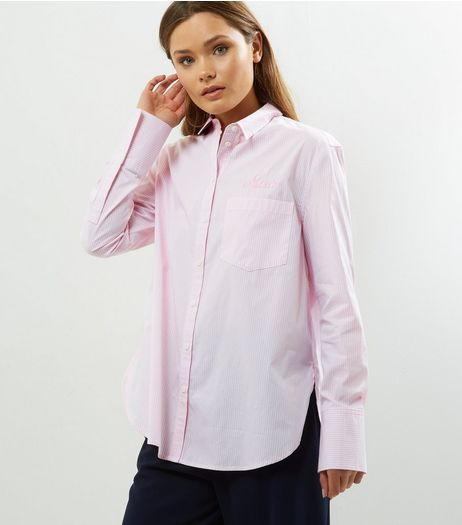 Pink Stripe Shirt | New Look