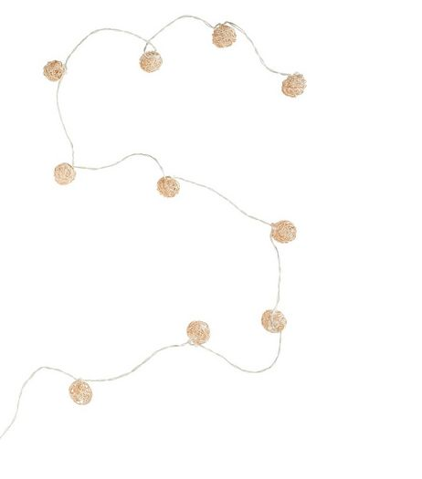 Gold Wire Wrap Fairy Lights | New Look