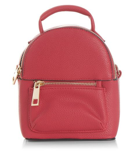 Pink Mini Backpack | New Look