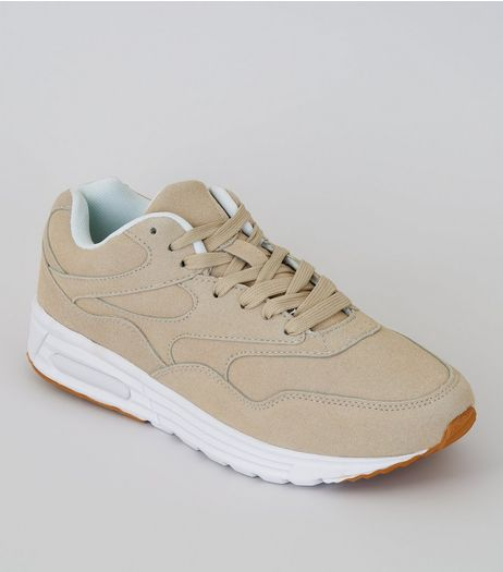 Stone Textured Sole Trainers | New Look