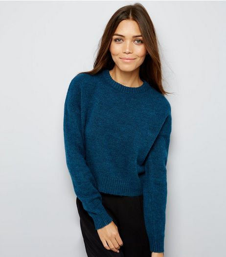 Blue Crew Neck Jumper | New Look