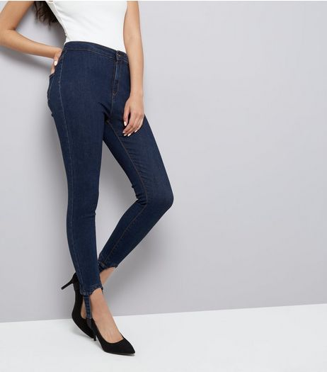 Blue Stirrup Hallie Jeans  | New Look