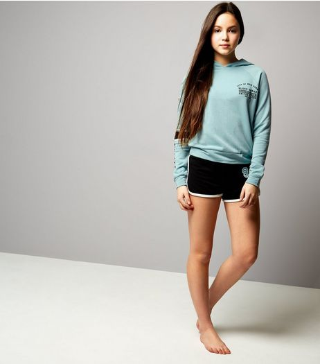 Teens Mint Green Sleep Sqaud Pyjama Set | New Look
