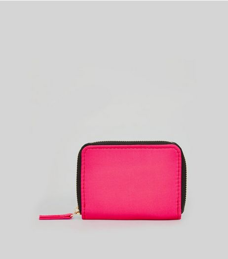 Neon Pink Cardholder | New Look