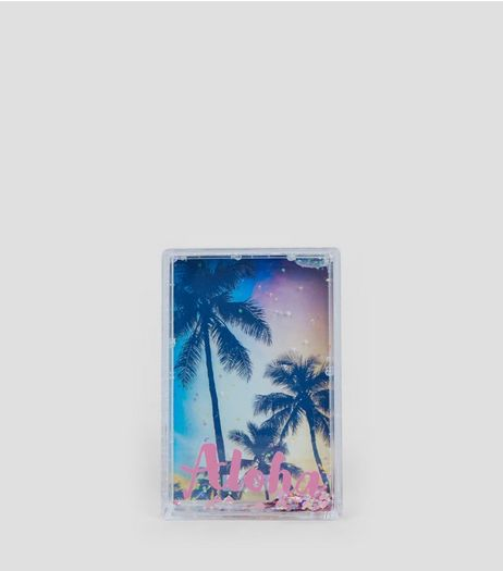 Coral Mini Aloha Shake It Photo Frame | New Look