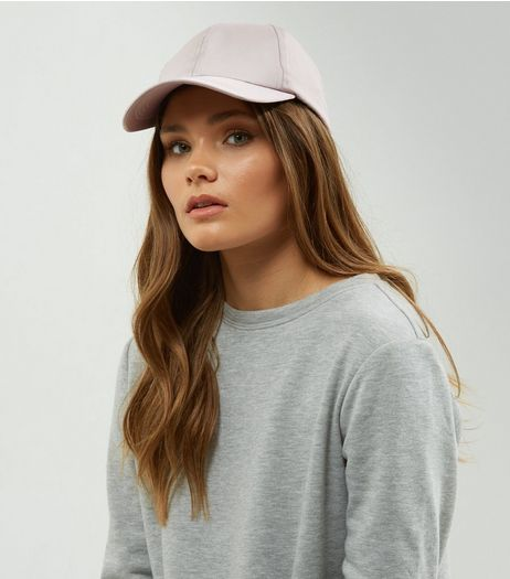 Mink Sateen Cap | New Look