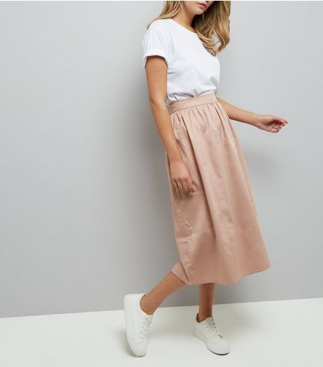 Pink Balloon Midi Skirt | New Look