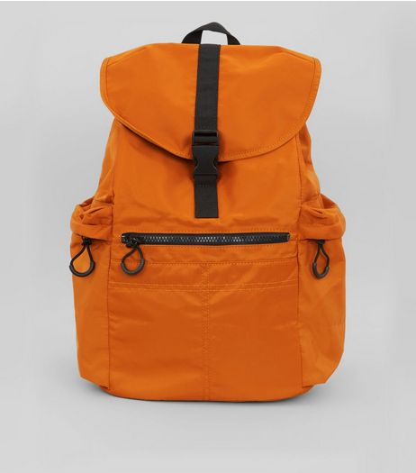 Orange Backpack | New Look