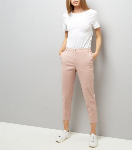 Mid Pink Suit Trousers  | New Look