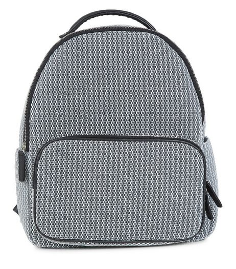 Black Mesh Backpack | New Look