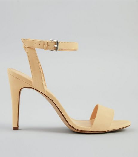 Mink Ankle Strap Heels | New Look