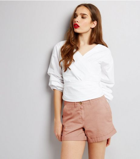Pink Chino Shorts | New Look