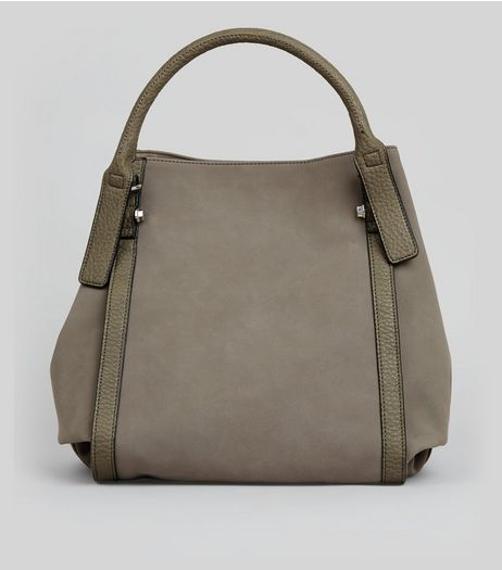 Mink Slouchy Tote Bag | New Look