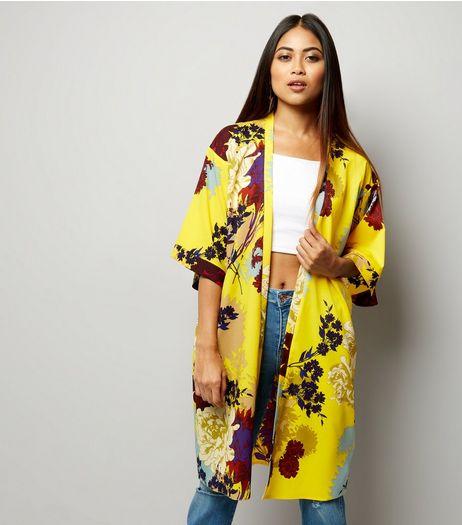 womens kimonos kimono jackets new look. Black Bedroom Furniture Sets. Home Design Ideas
