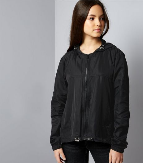 Teens Black Sports Jacket | New Look