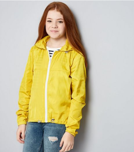 Teens Yellow Sports Jacket | New Look