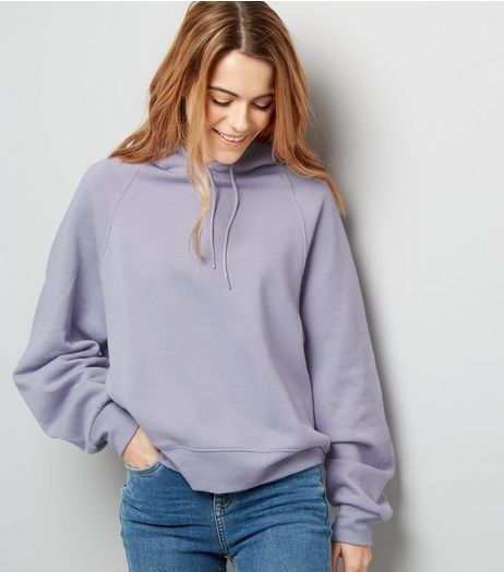 Lilac Oversized Hoodie | New Look