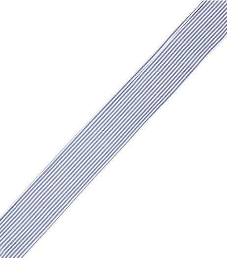 Blue Striped Necktie | New Look