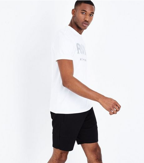 Black Jersey Sports Shorts | New Look