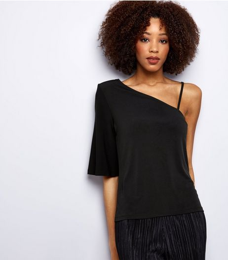Black Off the Shoulder Top  | New Look