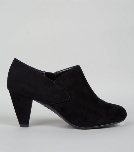 Teens Black Suedette Shoe Boots | New Look