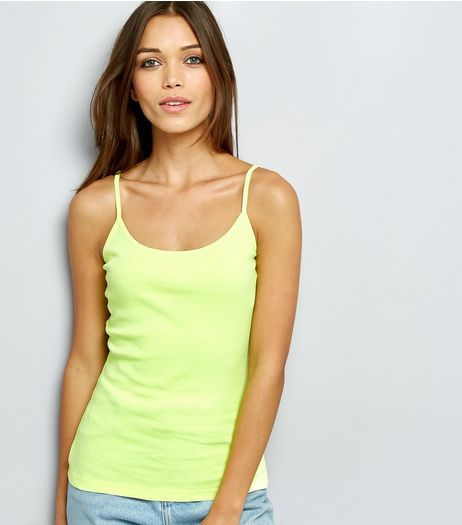 Yellow Cami Top  | New Look