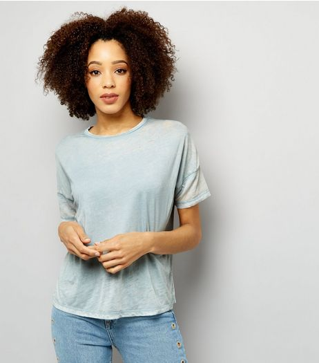 Blue Short Sleeve T-Shirt  | New Look