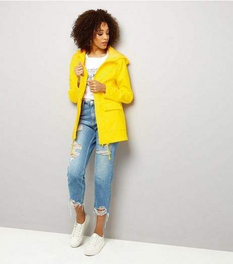 Tall Yellow Matte Anorak | New Look