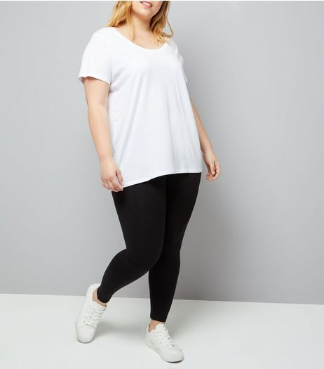 Curves 2 Pack Black Leggings | New Look