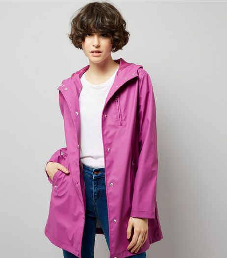 Purple Matte Anorak | New Look