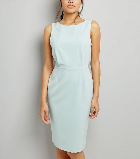 Mint Green Pencil Dress | New Look