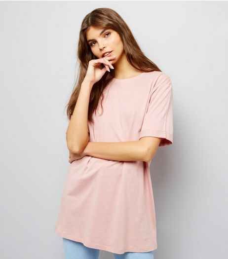 Tall Pink Oversized T-Shirt | New Look