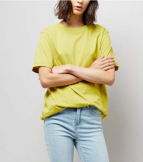 Tall Yellow Oversized T-Shirt | New Look