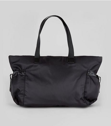 Black Luggage Tote Bag  | New Look