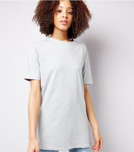 Grey Jersey Tunic | New Look