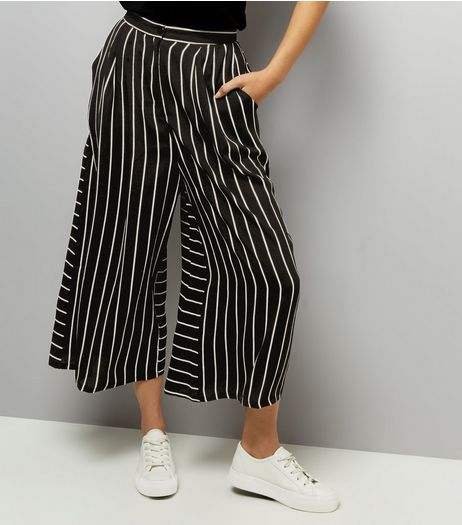 Anita and Green Black Stripe Culottes  | New Look