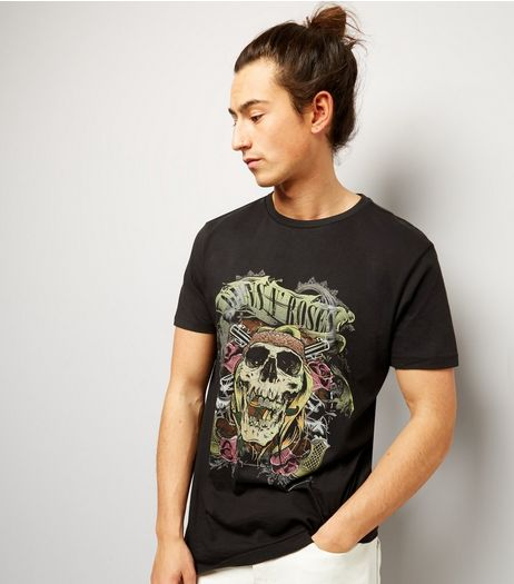 Black Guns N' Roses T-Shirt | New Look