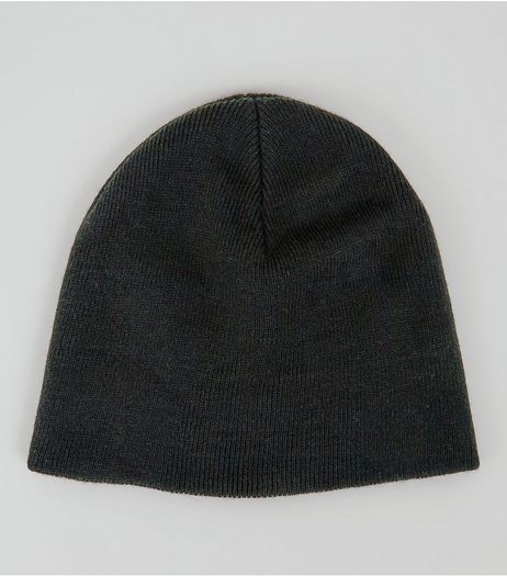 Black Knit Beanie | New Look
