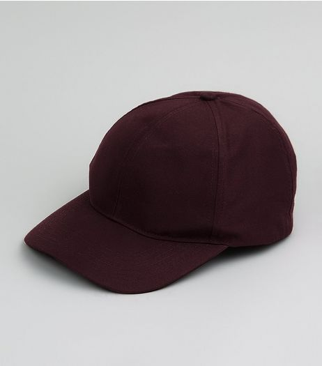 Burgundy Cap  | New Look