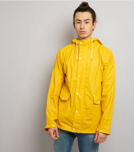 Yellow Hooded Anorak | New Look