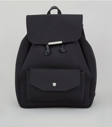 Black Structured Backpack | New Look