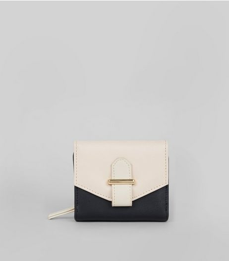 Black Small Contrast Purse | New Look