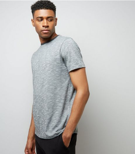 Grey Marl T-Shirt | New Look
