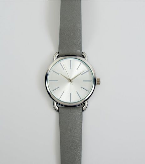 Grey Strap Watch | New Look