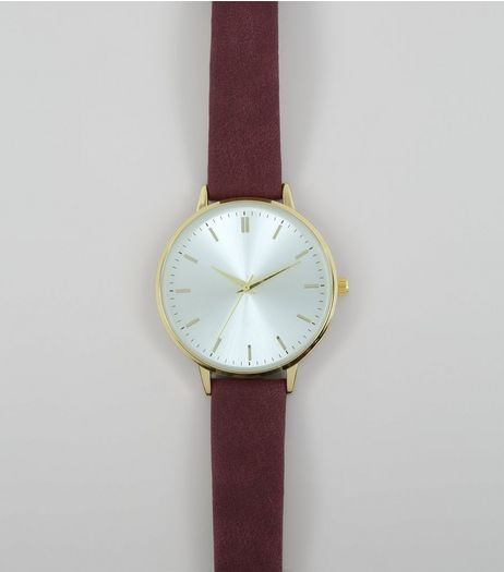 Purple Strap Watch | New Look