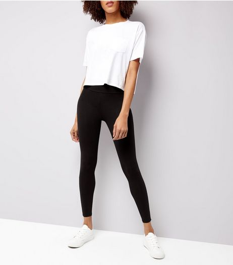 2 Pack Black High Waisted Leggings  | New Look