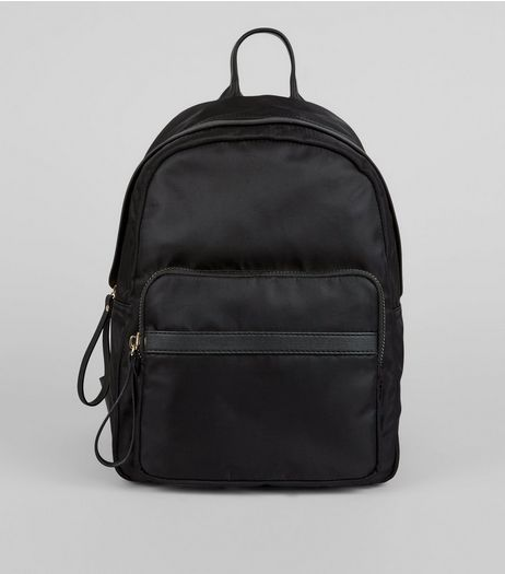 Black Utility Backpack | New Look
