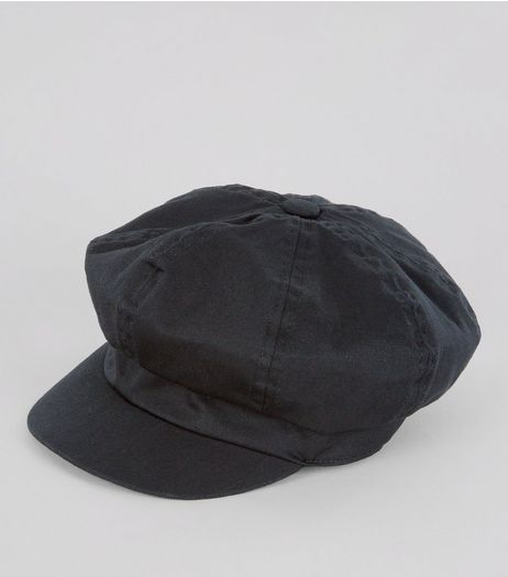 Black Baker Boy Hat | New Look